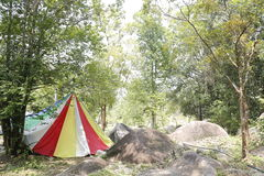 Colorful Tent Royalty Free Stock Photo