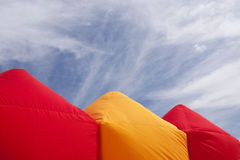 Colorful tents Royalty Free Stock Image