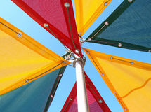 Colorful tents Stock Photo