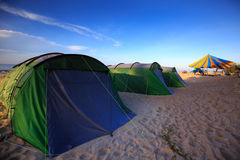 Colorful tents Royalty Free Stock Photography