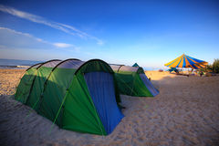 Colorful tents Royalty Free Stock Photos