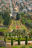 Colorful Terraced Gardens in the Sun stock photography