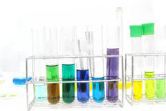 Colorful test tube, Chemical, Science, Laboratory,. Colorful test tube, Chemical, Laboratory Stock Image