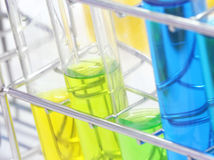 Colorful test tube, Chemical, Science, Laboratory, Stock Photos