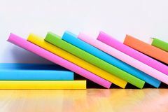 Colorful text book Royalty Free Stock Photo