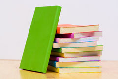 Colorful text book Royalty Free Stock Image