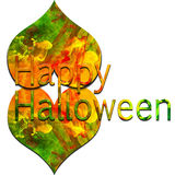 Colorful Text HALLOWEEN Royalty Free Stock Photos