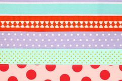 Colorful textile background Royalty Free Stock Photo
