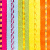Colorful textile background texture. Fabric multicolor back. Royalty Free Stock Photo