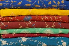 Colorful Textile Royalty Free Stock Photo