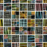 Colorful textile seamless pattern. Stock Photography