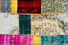 Colorful textile Royalty Free Stock Images