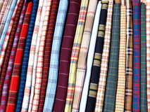 Colorful textiles Royalty Free Stock Photo