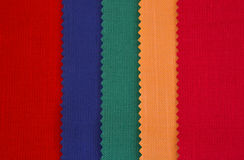 Colorful textiles Stock Photography