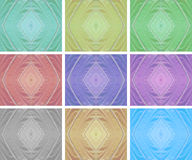 Colorful texture from butterfly wing Royalty Free Stock Images