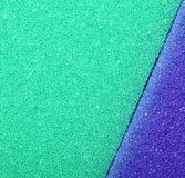 Colorful texture cellulose foam sponge background Stock Photo