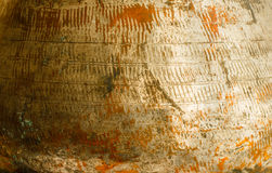 Colorful texture of copper. Royalty Free Stock Image