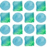 Colorful texture illustration pattern in a watercolor style. Aquarelle paper splash shapes isolated drawing. Abstract aquarelle for background, texture vector illustration