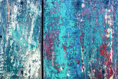 Colorful texture on wooden surface Royalty Free Stock Photography