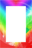 Colorful Textured Border/Frame Royalty Free Stock Image