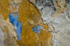 Colorful textures of a wall. A shot of colorful texture of a wall Stock Photos