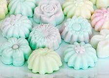 Colorful of Thai dessert Stock Photo