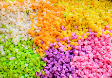 Colorful thai dessert Royalty Free Stock Photo