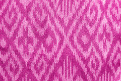 Colorful Thai fabric pattern. Royalty Free Stock Images