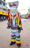 Colorful Thai ghost mask Royalty Free Stock Photos