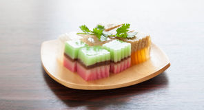 Colorful thai jelly Stock Image