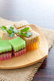 Colorful thai jelly Stock Images