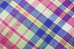 Colorful Thai loincloth fabric Stock Photography