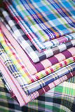 Colorful of thai loincloth Stock Photo