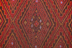 Colorful thai silk handcraft peruvian style rug surface close up More this motif & more textiles peruvian stripe beautiful backgro Stock Photography