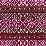 Colorful thai silk handcraft peruvian style rug surface close up More this motif & more textiles peruvian stripe beautiful backgro Stock Photo