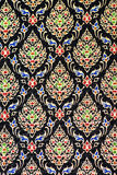 Colorful thai silk handcraft peruvian style rug surface close up More this motif & more textiles peruvian stripe beautiful backgro. Und tapestry persian nomad Royalty Free Stock Photography