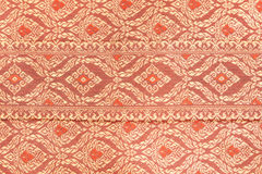 Colorful thai silk texture Stock Photos