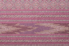 Colorful thai silk texture Royalty Free Stock Image