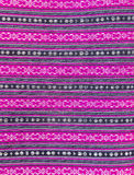 Colorful Thai style handmade fabric pattern Royalty Free Stock Images