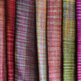 Colorful Thailand style rug surface close up. Stock Images