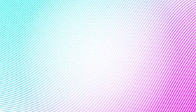 Colorful thin lines over white background.  abstract waves Royalty Free Stock Photo