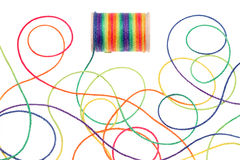 Colorful thread stock images