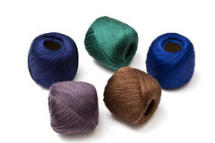 Colorful thread Royalty Free Stock Photos