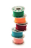 Colorful thread Royalty Free Stock Image