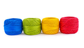 Colorful thread balls Royalty Free Stock Photo