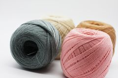 Colorful thread. Stock Image