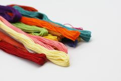 Colorful thread. Stock Photography