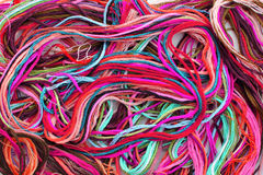 Colorful Thread Floss Royalty Free Stock Photos