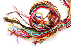 Colorful Thread Floss Royalty Free Stock Photography