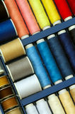 Colorful thread set Royalty Free Stock Images